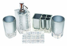 Collection Bathroom Accessories Set Magical Bling,5-Piece ,Boutique Set