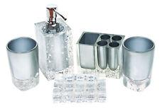 Romantic Modern 5pcs Bath Bathroom Accessories Set Housewarming Wedding Gift