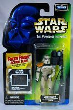 1997 RARE Kenner Star Wars POTF Freeze Frame Imperial Sandtrooper Action Figure