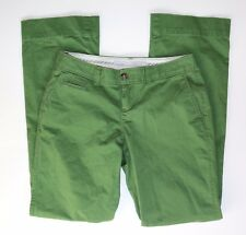 Old Navy 2 Reg. Green Stretch Cotton Chino Pants EXCELLENT CONDITION