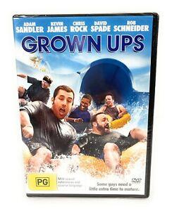 Grown Ups :  Adam Sandler : New Old Aus Stock : DVD New & Sealed Region 4