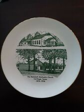 Rehobeth Methodist Church - Carthage, Texas - Collector's Plate - 1878-1978