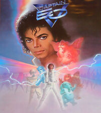 MICHAEL JACKSON - CAPTAIN EO - THE MOVIE (1986 DVD) NEW & SEALED!
