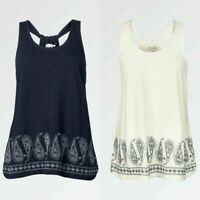 Ex  FAT FACE PAISLEY CAMI TOP RRP £35.00  NOW £17.99 + 3.99 Delivery!     (B135)
