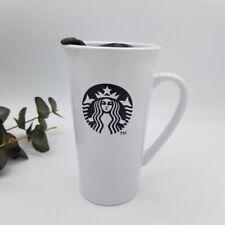 Starbucks 2013 16 oz Travel Mug w/Lid Black White