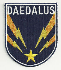 Stargate Atlantis TV Series Daedalus Ship Crew Logo Embroidered Patch NEW UNUSED