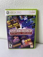 Namco Museum: Virtual Arcade (Microsoft Xbox 360, 2008) - Complete W/ Manual