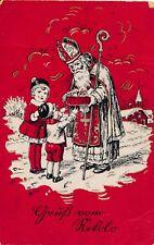 Nr 11841  Pk Gruß vom Nikolo 1931 Kinder