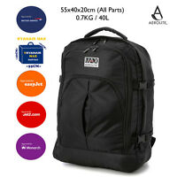 Aerolite Maximum Backpack Ryanair 55x40x20 Approved Cabin Hand Luggage Rucksack
