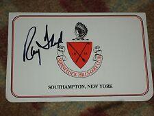 Ray Floyd 1985 US Open Signed Shinnecock Hills Scorecard