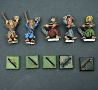 Warhammer Fantasy Empire Flagellants Lot x5 Metal Flagellant Mordheim