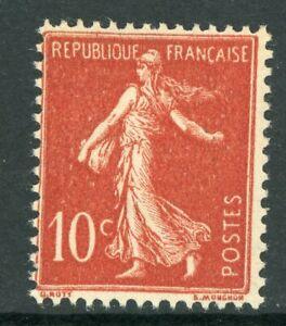 France 1919 Sower 10¢ Red Booklet Stamp SG #333c MNH P169 ⭐⭐⭐