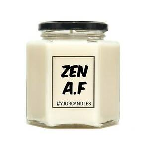 Zen A.F Funny Scented Candle