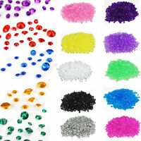 1000-10000pcs 4.5mm Acrylic Crystals Confetti Wedding Table Scatters Decoration
