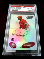 2003 Bowman's Best Ryan Howard Autograph PSA 8.5