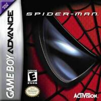 Spiderman Game Boy Advance Game Used