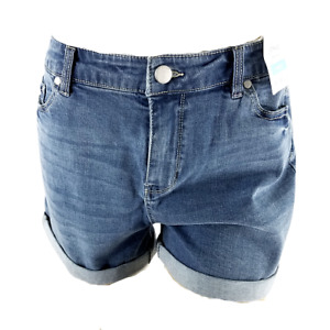 Joules Size 10 Shirley Denim Jean Short Light Wash Blue Relaxed Fit New With Tag