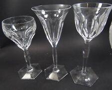 31 gr. Kristallgläser sehr guter Qualität (Baccara?),  (225/3070)