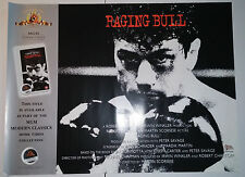 "Raging Bull (R1997) original UK video release poster (30""x40"") rolled"