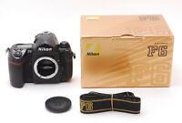 "Nikon F6 35mm SLR Film Camera Black Body "" Mint in Box "" From Japan E502"