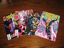 Marvel - MAGNETO 1 - 4  Complete Mini-Series!!  VF  1996