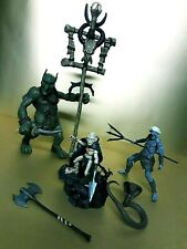 Lord of the Rings Game of Thrones Action Figures Lot Everquest White Walker!!!