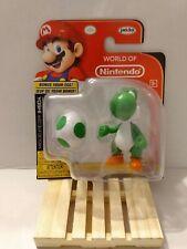 "World Of Nintendo Green Yoshi With Yoshi Egg 2.5"" Figure NIP"