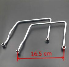 Chrome 16.5cm Saddle bag Support Bar Mount Bracket For Honda Shadow Aero ACE 750