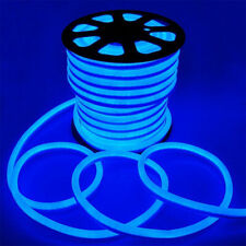 DC12V LED Neon Rope Light Flex Party Wedding KTV Store Window Decor 5m - Blue