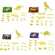 1pc New Assorted Dinosaur Fossil Skeleton Figures Kids Toy Dinosaurs Toys