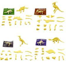 1pc  Assorted Dinosaur Fossil Skeleton Figures Kids Toy Dinosaurs Hobbies Toys