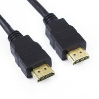 1M Metre Premium Gold HDMI to HDMI High Speed 1080p LCD HDTV Video Lead Cable 3D