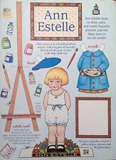 Mary Engelbreit Mag. Paper Doll, Ann Estelle, Feb./March 1998, Uncut