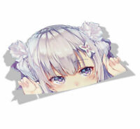 Big Head AlbedoOverlord Anime Vinyl Transfer Decal Stickers 001 Peek