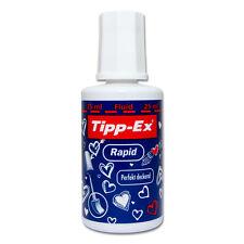 (15,96/100ml) Tipp-Ex Rapid Korrekturflüssigkeit 25ml mit Schwämmchen