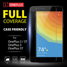 5D Full Coverage Tempered Glass Screen Protector for OnePlus 5 5T | OnePlus 3 3T