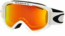 Oakley O2 XM Snow Goggles (Matte White / Fire Iridium Lens / One Size)