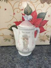 "ENESCO Precious Moments ""Bay Leaves"" Spice Jar Canister  FREE SHIPPING"