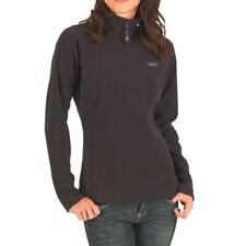 Helly Hansen Womens Daybreaker 1/2 Zip Micro Fleece, Black, Large, BNWT