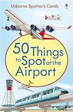 50 Things to Spot at the Airport (Usborne Spotter's Cards), Struan Reid | Cards