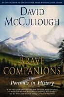 Brave Companions a paperback book by David McCullough FREE SHIPPING history