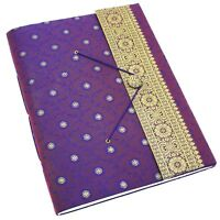 Sari Fabric Cover Photo Album 6 Colour 30 Pages to fit 240 6x4 or 120 7x5 Photos