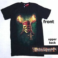 PIRATES OF THE CARRIBEAN DEAD MAN'S CHEST T-SHIRT SMALL NEW