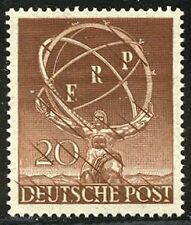 GERMANY / BERLIN Mi. #71P MNH - 1950 20pf Industry