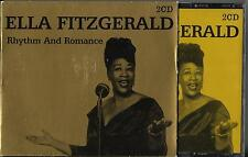 COFFRET 2 CD 32 TITRES ELLA FITZGERALD RHYTHM AND ROMANCE BEST OF 2004