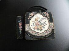 Alte Damen Abendhandtasche mit Stickerei  nr.2