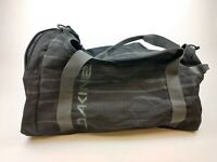 Dakine Duffle Black Gray Striped Large