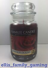 NEW Yankee Candle Raindrops On Roses 22oz My Favorite Things VHTF Ships Fast