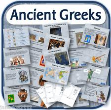 KS2 History ANCIENT GREECE GREEKS Primary IWB & worksheets teaching resources CD