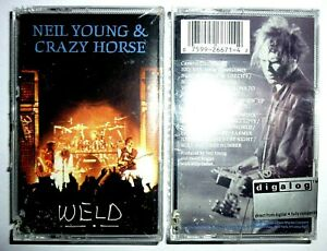 Neil Young & Crazy Horse - Weld / 2 MC / 1991 / OVP Sealed / USA Cassette Tape